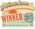 NaNo2011 Winner