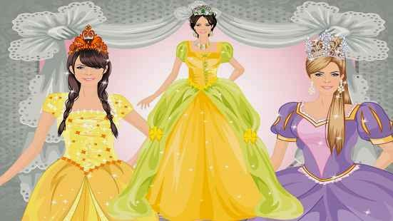Prenses Giydirme Android Apk Oyun resimi 1