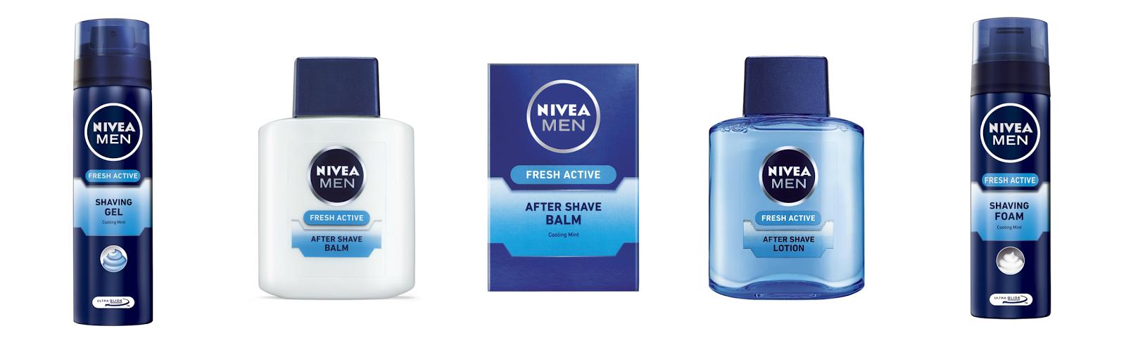 PR:Nivea Men Fresh Active Shaving Range