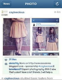 Cayleecious&#39;s Instragam