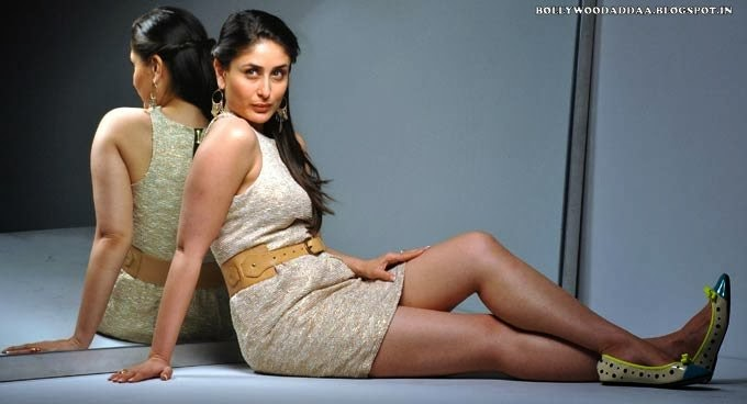 Kareena Kapoor  hot thighs nude visible photoshoot