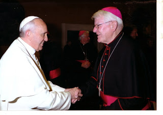 Campbell and Pope Francis