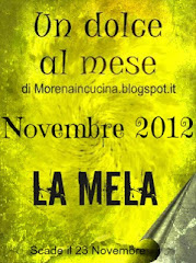 LA MELA - un dolce al mese - Novembre 2012