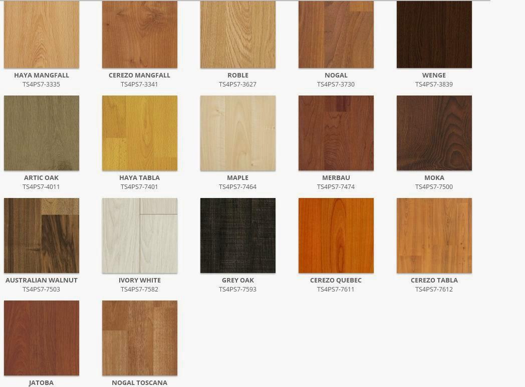 Persianas y pisos laminados for Colores para pisos