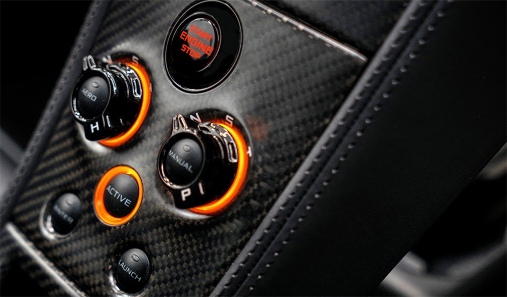 McLaren MSO 650S Coupe Concept Center Console