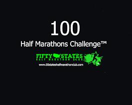 100 Half Marathons - Club Challenge of 50 States Half Marathon Club