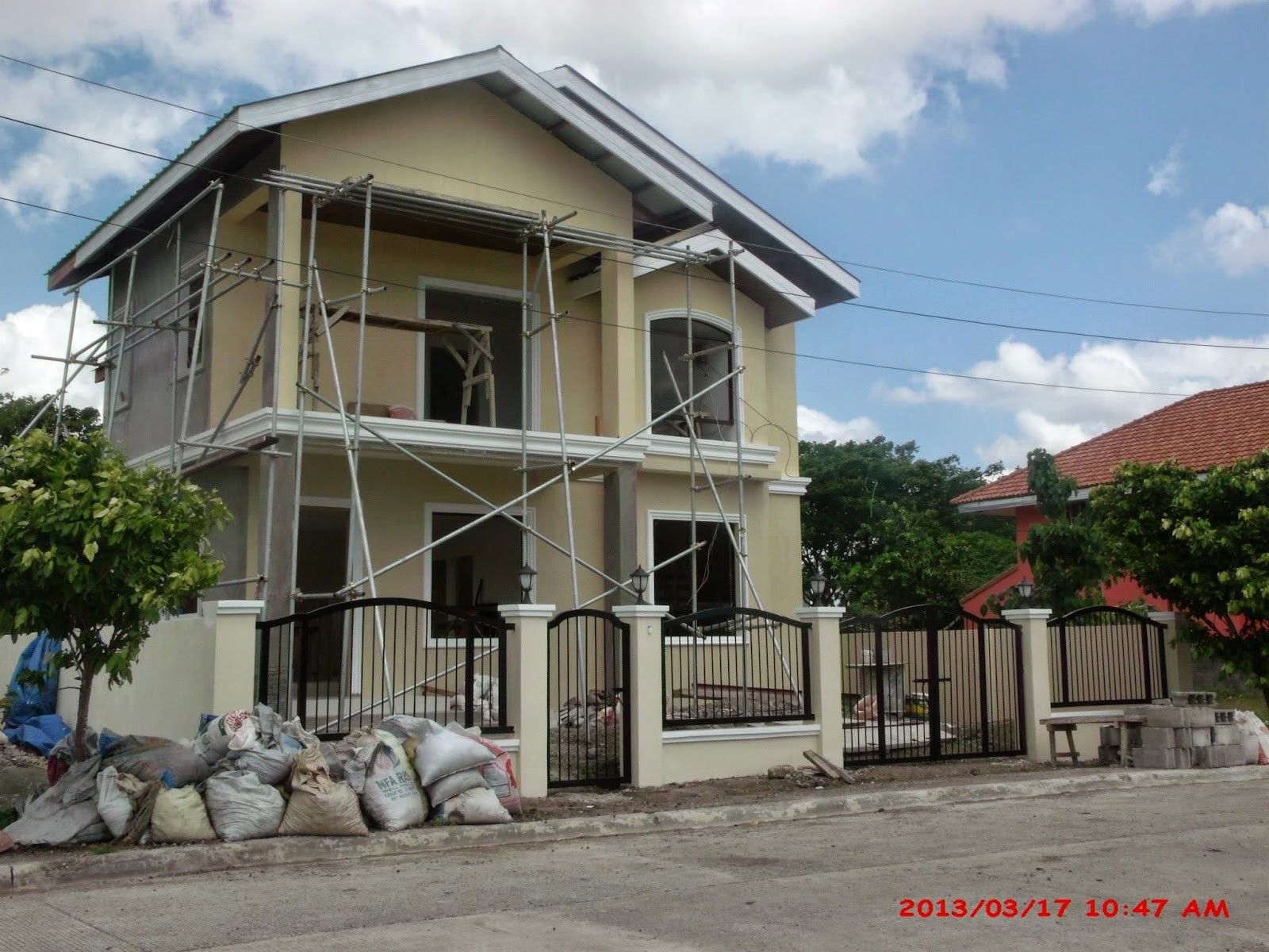 savannah trails house construction project in oton iloilo model houses in the philippines with floor plan iloil one story house plans philippines iloilo new