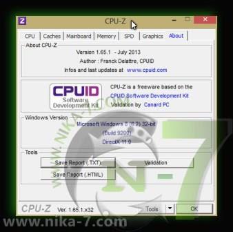 CPU-Z 1.65