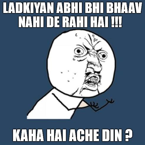 Kaha Hai Ache Din? - Desi Problem - Desi Unit