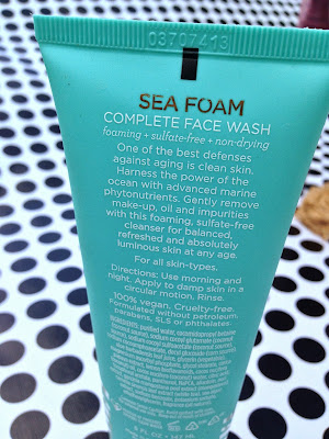 Pacifica Sea Foam Complete Face Wash Review