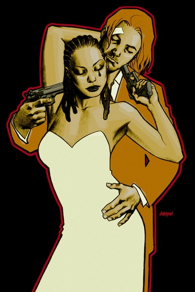 100 Bullets Comic Cover Art Dave Johnson