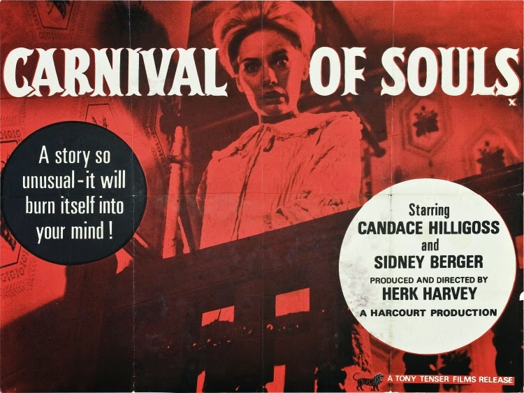 A Vintage Nerd, Vintage Blog, Classic Film Blog, Classic Suspense Movies, Old Hollywood Blog, Carnival of Souls