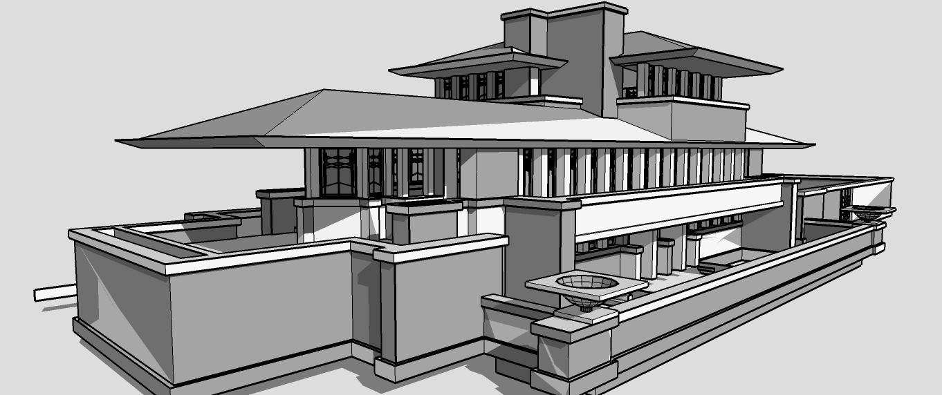 Architecture Student 39 S Corner F L Wright 39 S Buildings