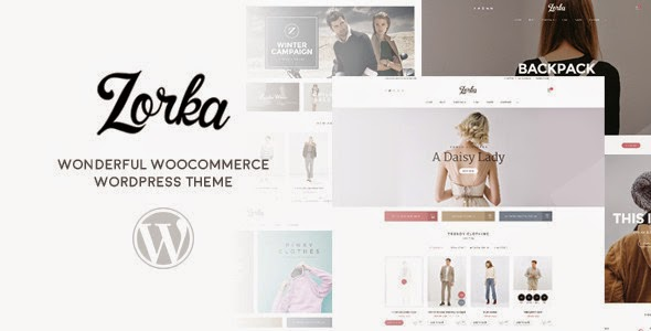 download ZORKA – Wonderful Fashion WooCommerce Theme