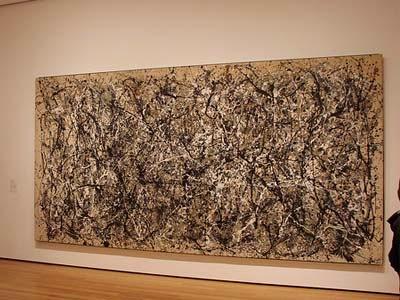 Lukisan Abstrak No. 5, 1948