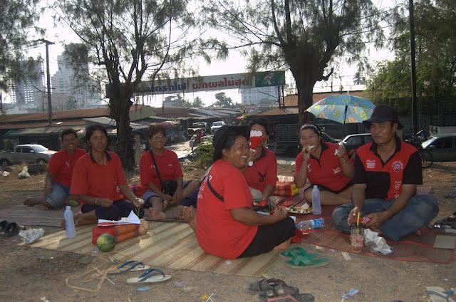 red shirts, khonkaen,khon kaen, isan, isaan