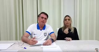 25 de abril, 18h30: LIVE com o presidente Bolsonaro