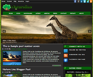 Natureline+Blogger+Template
