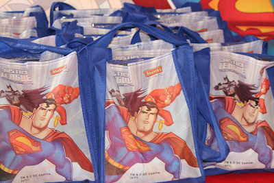 Justice League Party Favors