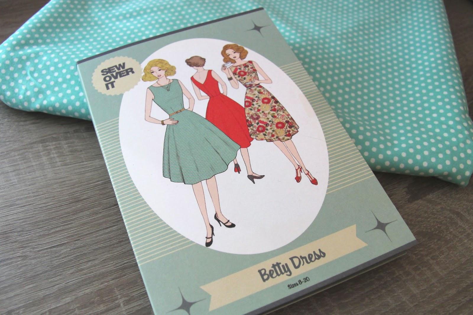 betty dress pattern - sew over it