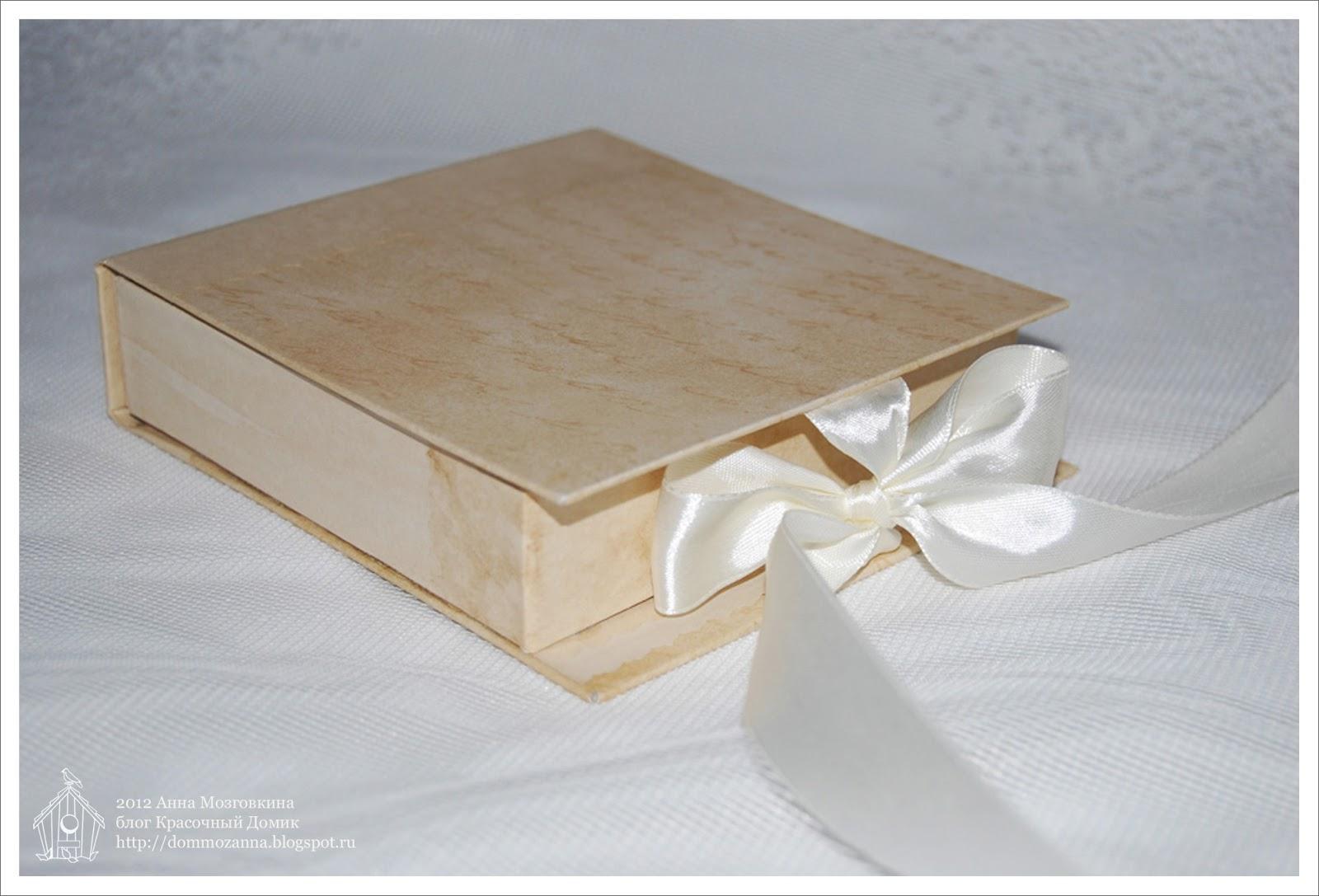 скрапбукинг коробка для аксессуаров