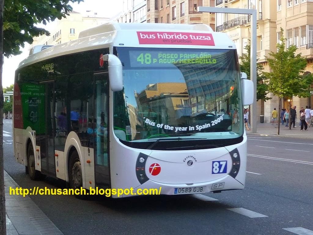 Cuarte De Huerva Autobuses | Transporte Publico En Zaragoza 12 2013