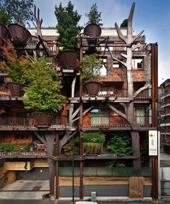 Urban Treehouse, Luciano Pia