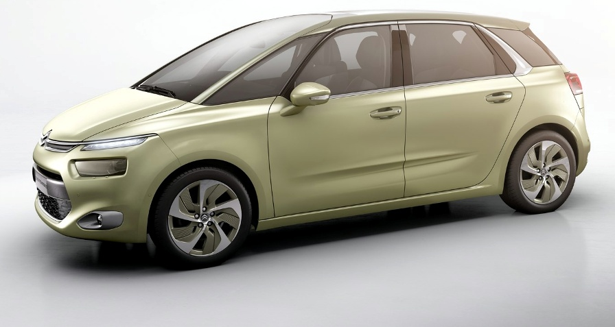 2014 new citroen c4 picasso technospace concept first for Garage citroen c4