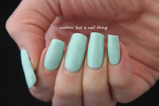 Seventeen Gel Colour - Mint Cooler
