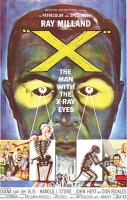 Poster - The Man with the X-Ray Eyes (1963)