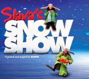 מופע השלג של סלאבה (Slava's Snow Show) בישראל - יוני 2015
