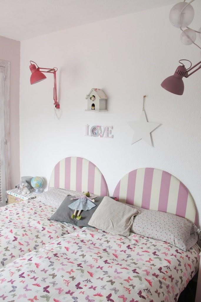 Deconiños: los cabeceros tapizados de mis niñas | Ministry of Deco