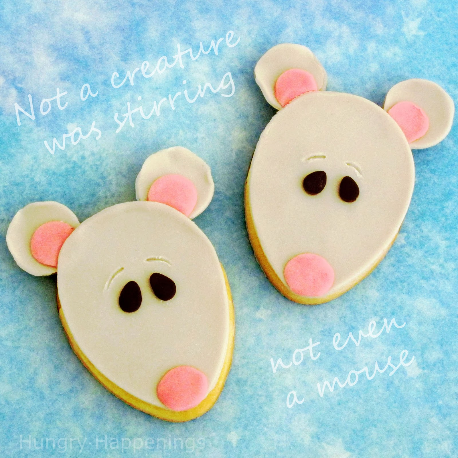 Twelve Days Of Sweet Designs Day 1 Christmas Mouse Cookies