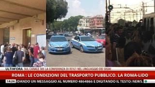 Roma-Lido - la situazione a luglio 2015