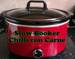 Slow Cooker Chilli Con Carne Recipe