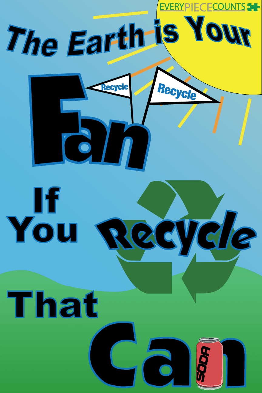 BBarnyard: Recycle Poster