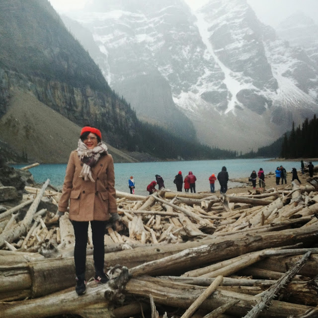 Kitty N. Wong / Lake Moraine, Banff AB