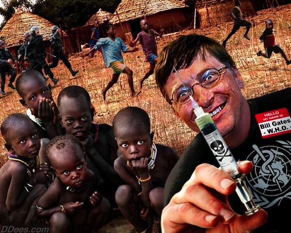 The United States of the Solar System, A.D. 2133 (Book Seven and the Seven Seals) - Page 37 Bill-gates-vaccine-kids1