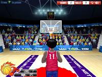لعبة كرة السلة nba