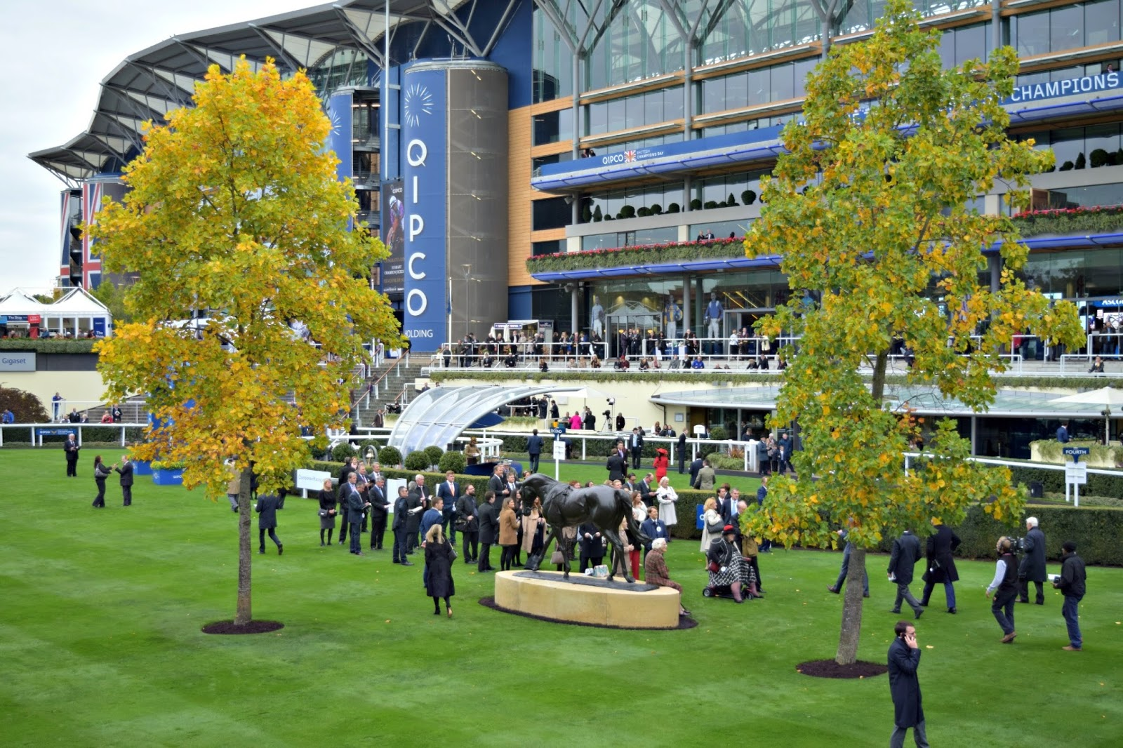 Ascot in Autumn