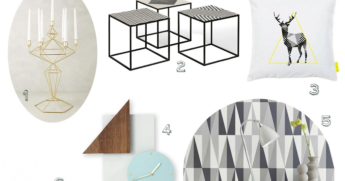 S lection shopping d co tendance g om trique blog en for Deco tendance geometrique