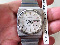 SEIKO LM WHITE DIAL - AUTOMATIC 5606 6020