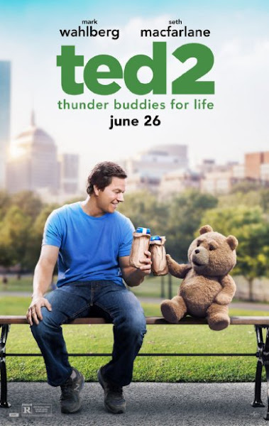 Poster Of Ted 2 2015 720p BRRip English