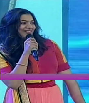 GEETHA MADHURI DICTATOR AUDIO LAUNCH COSTUME