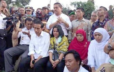 Jokowi kunjungi korban bencana gunung Sinabung