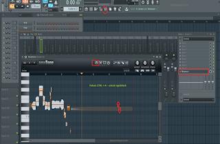 Cara merubah chord lagu atau vocal di Fl studio