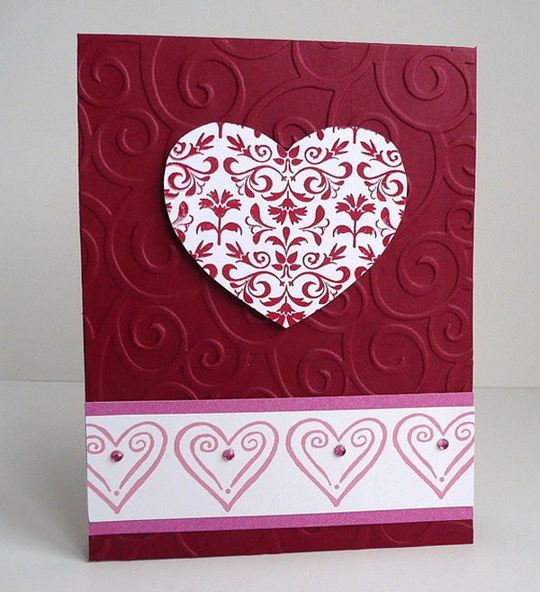 Way 2 enliven handmade birthday cards for boyfriend for Cute valentines day card ideas