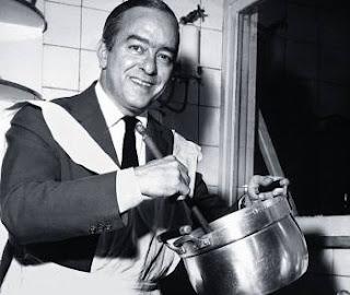 """Vinicius de Moraes na cozinha - livro: """"Pois Sou um Bom Cozinheiro"""""""