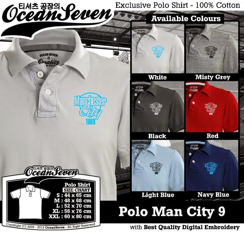 Kaos Polo Man City 9