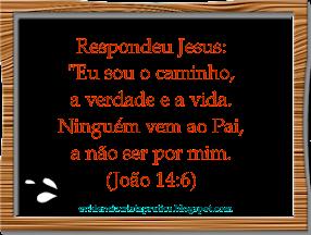 JESUS, O CAMINHO